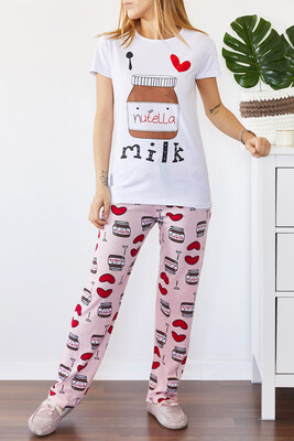 XHAN - Baskılı Pijama Takımı 0YXK8-43695-01