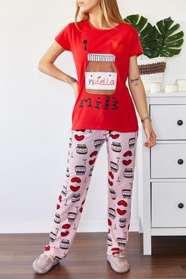 XHAN - Baskılı Pijama Takımı 0YXK8-43695-04