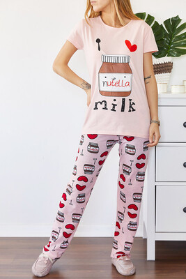 XHAN - Baskılı Pijama Takımı 0YXK8-43695-50