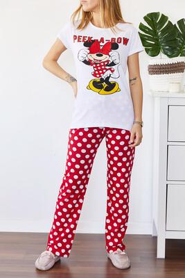 XHAN - Baskılı Pijama Takımı 0YXK8-43696-01