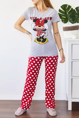 XHAN - Baskılı Pijama Takımı 0YXK8-43696-03
