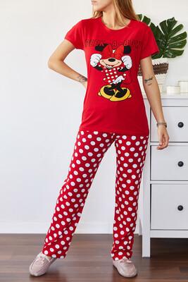XHAN - Baskılı Pijama Takımı 0YXK8-43696-04