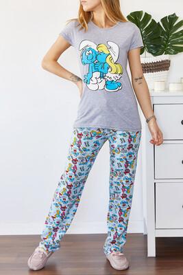 XHAN - Baskılı Pijama Takımı 0YXK8-43697-03