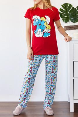 XHAN - Baskılı Pijama Takımı 0YXK8-43697-04