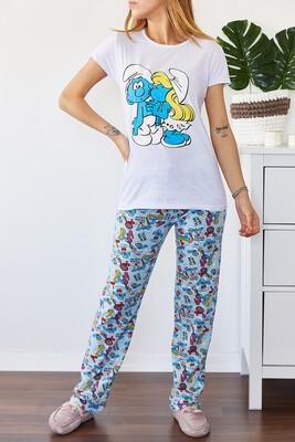 XHAN - Baskılı Pijama Takımı 0YXK8-43697-50