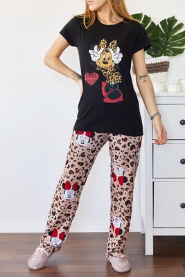 XHAN - Baskılı Pijama Takımı 0YXK8-43698-02