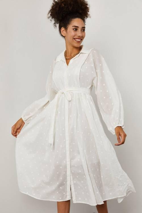 XHAN - Beyaz Elbise 1YXK6-45259-01