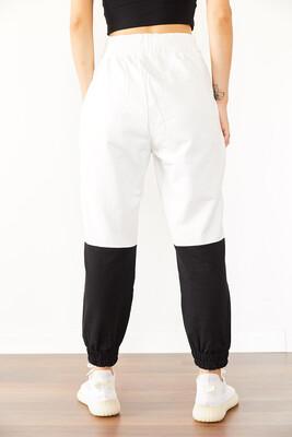 XHAN - Beyaz & Siyah Eşofman Altı 0YXK8-43968-01