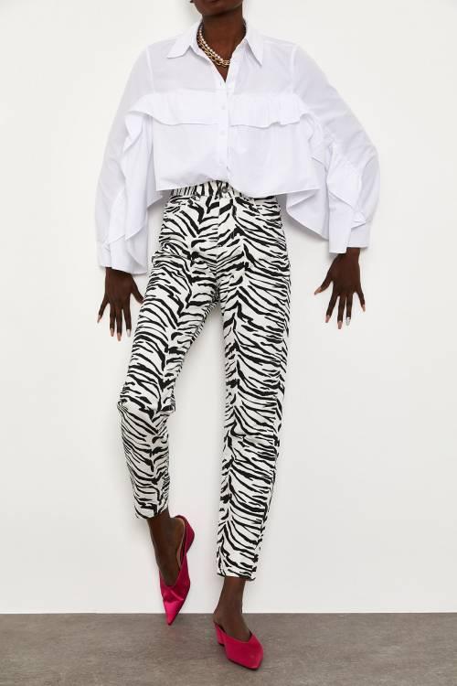 XHAN - Desenli Pantolon 1YXK5-44900-87