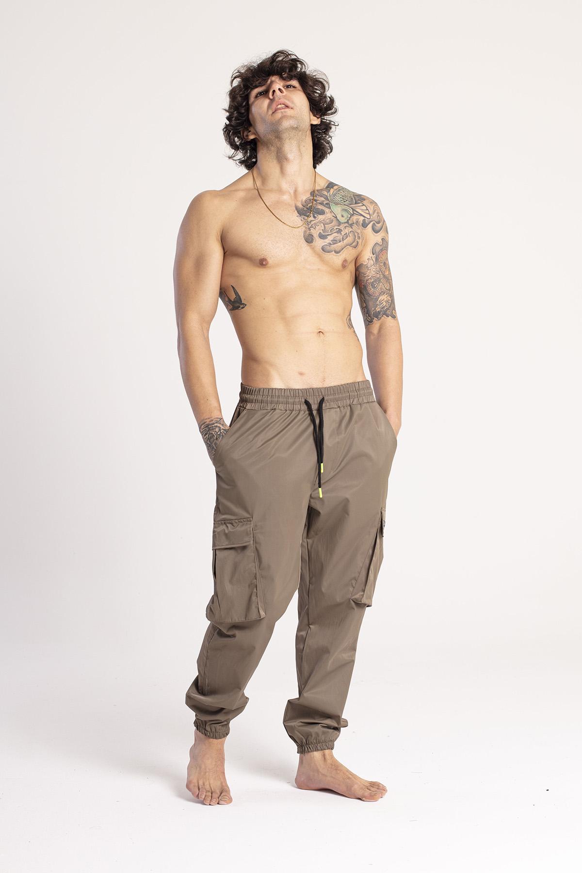 XHAN - Haki Kargo Cep Jogger Pantolon 1KXE5-44672-09