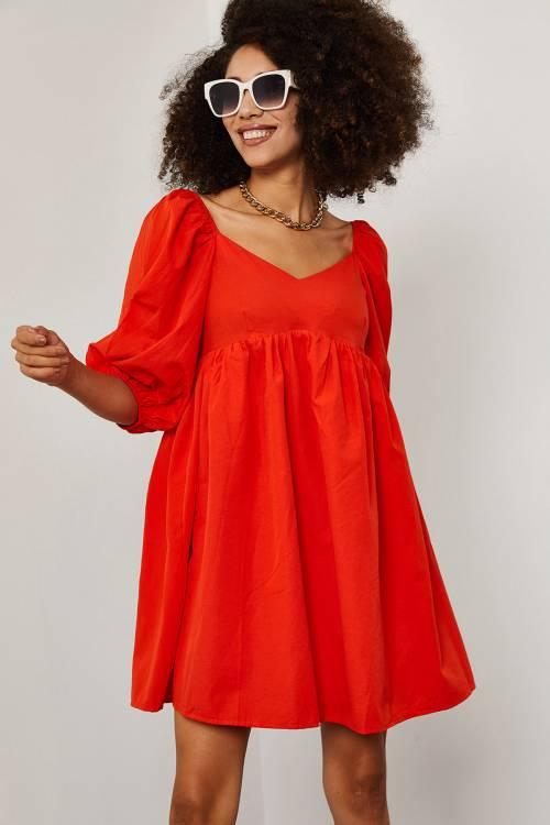 XHAN - Kırmızı Elbise 1YXK6-45258-04