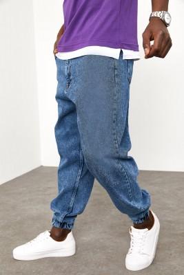 XHAN - Mavi Botfriend Jogger Kot Pantolon 1YXE5-44984-12