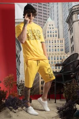 XHAN - Sarı Baskı Detaylı Takım 1YXE8-45000-10