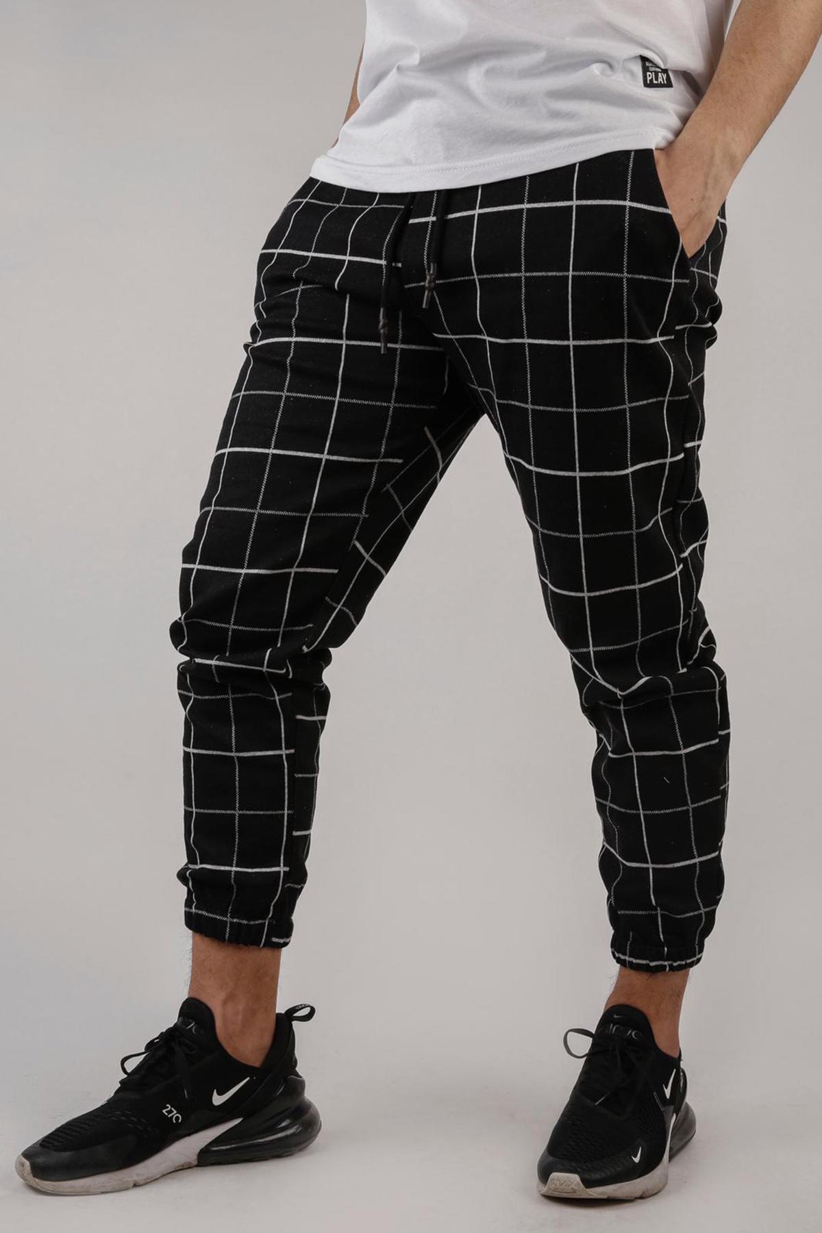 XHAN - Siyah Jooger Pantolon 1KXE5-44680-02