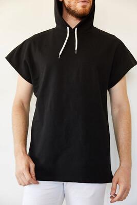 XHAN - Siyah Kolsuz Sweatshirt 0YXE8-44068-02