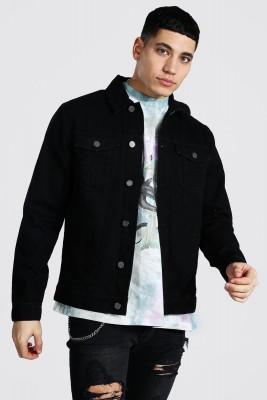 XHAN - Siyah Kot Ceket 1KXE4-44804-02
