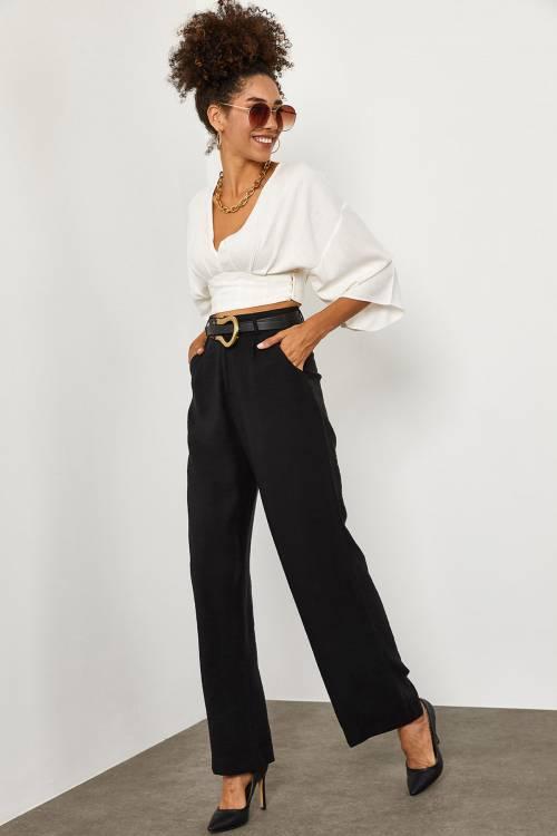 XHAN - Siyah Pantolon 1YXK5-45241-02
